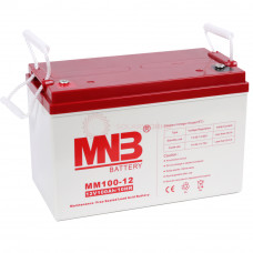Аккумулятор AGM MNB MM 100-12 (AGM 12В 100 Ач)