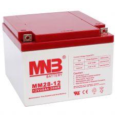 Аккумулятор AGM  MNB  MM 28-12