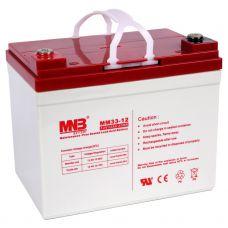 Аккумулятор AGM MNB MM 33-12