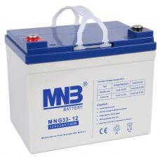 Гелевый аккумулятор MNB MNG 33-12