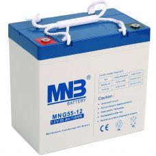 Гелевый аккумулятор MNB MNG 55-12