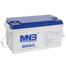 Гелевый аккумулятор MNB MNG 65-12