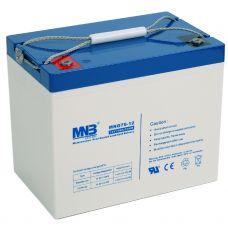 Гелевый аккумулятор MNB MNG 75-12