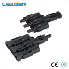 Коннектор разветвитель T 3-1 MC-4 IP67
