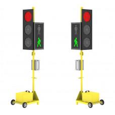 Мобильный светофор ДУОС Пешеход (комплект)