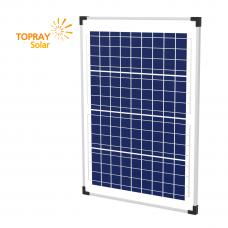 Солнечная батарея  TopRay Solar 40 Вт Поли