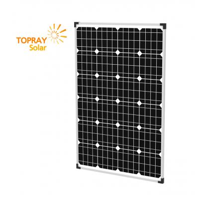 Солнечная батарея TopRay Solar монокристаллическая 100 Вт