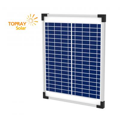 Солнечная батарея TopRay Solar поликристаллическая 15 Вт