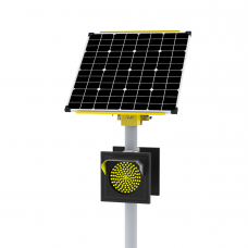 Солнечно-сетевой светофор HN Т.7.1 двусторонний 200мм